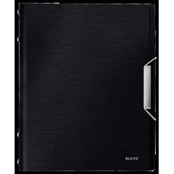 Teczka segregująca Leitz Style 6 przekładek - czarna