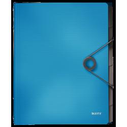 Teczka segregująca Leitz Solid 6 przekładek - jasnoniebieska