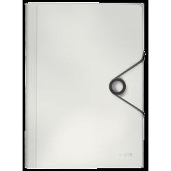 Teczka z 6 przegródkami Leitz Solid - biała