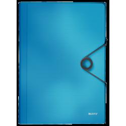 Teczka z 6 przegródkami Leitz Solid - jasnoniebieska