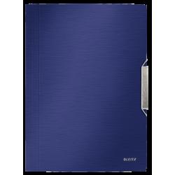 Teczka z gumką PP Leitz Style 15 mm - niebieska