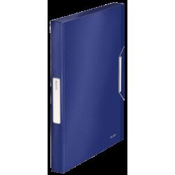 Teczka z gumką PP Leitz Style 30 mm - niebieska