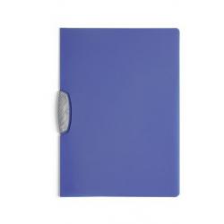 Skoroszyt zaciskowy o pojemności do 30 kartek Swingclip - niebieski