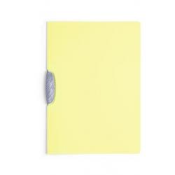 Skoroszyt zaciskowy do 30 kartek Swingclip - żółty