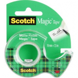 Taśma 3M Scotch Magic 8-1975, 19mm x 7,5m na podajniku