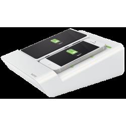 Ładowarka Leitz Complete Duo, do dwóch smartfonów - biała