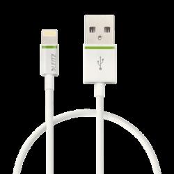 Kabel Leitz Complete ze złączem Lightning na USB, 30cm - biały