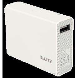 Ładowarka podróżna Leitz Complete 6000mAh ze złączem USB - biała