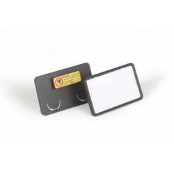 Identyfikator z magnesem - 40x75 mm / 25 szt