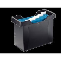Kartoteka na teczki zawieszane Leitz Plus - czarna