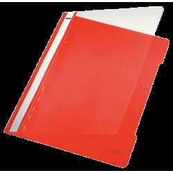 Skoroszyt sztywny PCV Leitz A4 - czerwony