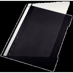 Skoroszyt sztywny PCV Leitz A4 - czarny