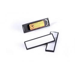 Identyfikator z magnesem - 17x67 mm / 25 szt