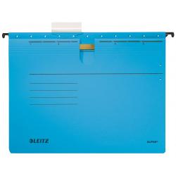 Skoroszyt zawieszany Leitz Alpha - niebieski