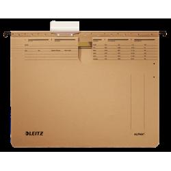 Skoroszyt zawieszany Leitz Alpha - brązowy
