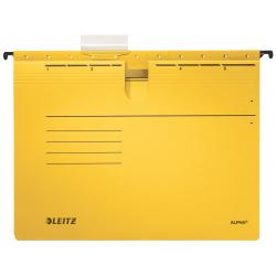 Skoroszyt zawieszany Leitz Alpha - żółty