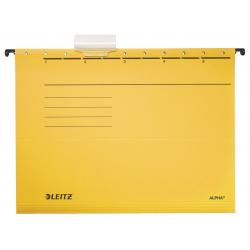 Teczka zawieszana Leitz Alpha - żółta