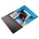 Teczka z gumką PP Leitz Solid 15 mm, A4 - jasnoniebieska