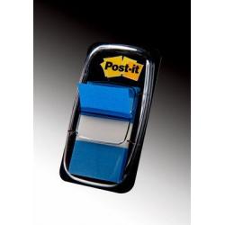 Zakładki indeksujące 3M Post-it (680-2) PP, 25x43mm/50szt. - niebieskie