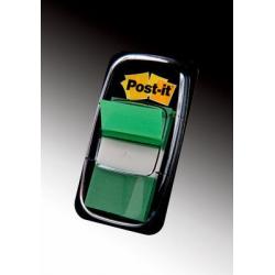 Zakładki indeksujące 3M Post-it (680-3) PP, 25x43mm/50szt. - zielone