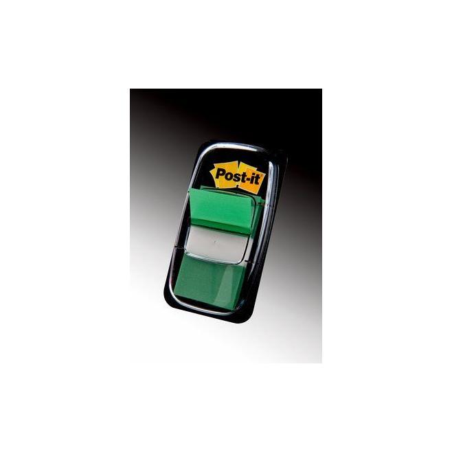 Zakładki indeksujące 3M Post-it (680-3) 25x43mm/50szt. - zielone