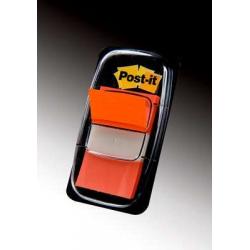 Zakładki indeksujące 3M Post-it (680-4) PP, 25x43mm/50szt. - pomarańczowe