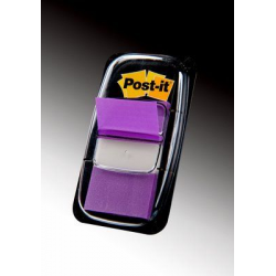 Zakładki indeksujące 3M Post-it (680-8) PP, 25x43mm/50szt. - fioletowe