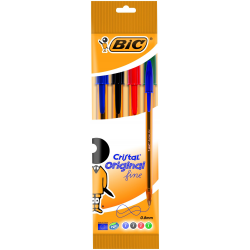 Długopis Bic Cristal Original fine Mix - 4 kolory