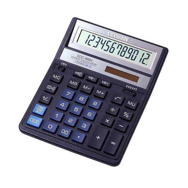Kalkulator Citizen SDC-888XBL - niebieski
