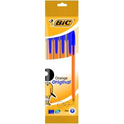 Długopis Bic Orange niebieski - 4 sztuki