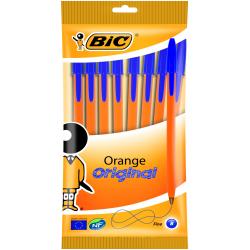 Długopis Bic Orange niebieski - 8 sztuk