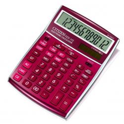 Kalkulator Citizen CCC-112RD - czerwony