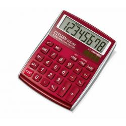 Kalkulator Citizen CDC-80RD - czerwony
