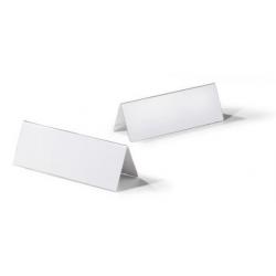 Identyfikator stołowy z akrylu 105/210x297 mm / 10 szt