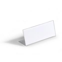 Identyfikator stołowy z akrylu 61x150 mm / 10 szt