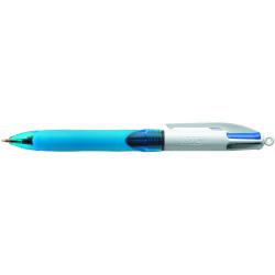 Długopis Bic 4  Colours Grip - niebieski