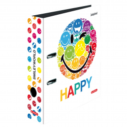 Segregator A4 Herlitz - maX.file - Smiley World Rainbow