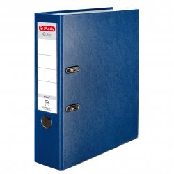 Segregator A4 Herlitz Q.file - 8cm - niebieski