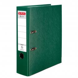 Segregator A4 Herlitz Q.file - 8cm - zielony