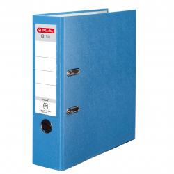 Segregator A4 Herlitz Q.file - 8cm - jasnoniebieski Aqua
