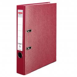 Segregator A4 Herlitz Q.file - 5cm - czerwony