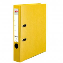 Segregator A4 Herlitz Q.file - 5cm - żółty