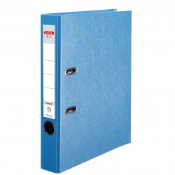 Segregator A4 Herlitz Q.file - 5cm - jasnoniebieski Aqua
