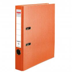 Segregator A4 Herlitz Q.file - 5cm - pomarańczowy