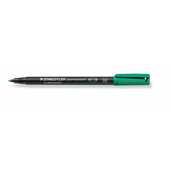 Foliopis Staedtler Lumocolor M (0,8-1,0mm) - zielony