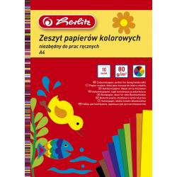 Wycinanki Herlitz A4 - kolorowe - 10 kartek