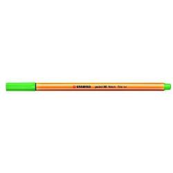Cienkopis Stabilo Point 88 - zielony neonowy