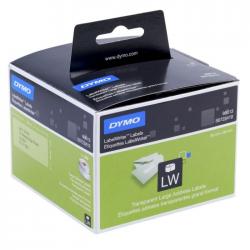 Etykiety DYMO 89x36mm - przezroczyste