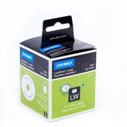 Etykiety DYMO średnica 57mm/160szt. na CD/DVD - białe