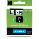 Taśma DYMO D1 43610 6mm x 7m - przezroczysta/czarny nadruk